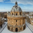 The Radcliffe Camera and All Souls College in Radcliffe Square, UK