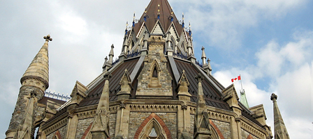 Library of Canadian Parliament, Ottawa, Canada