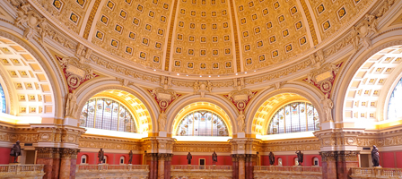 Ceiling, Library of Congress, Washington DC
